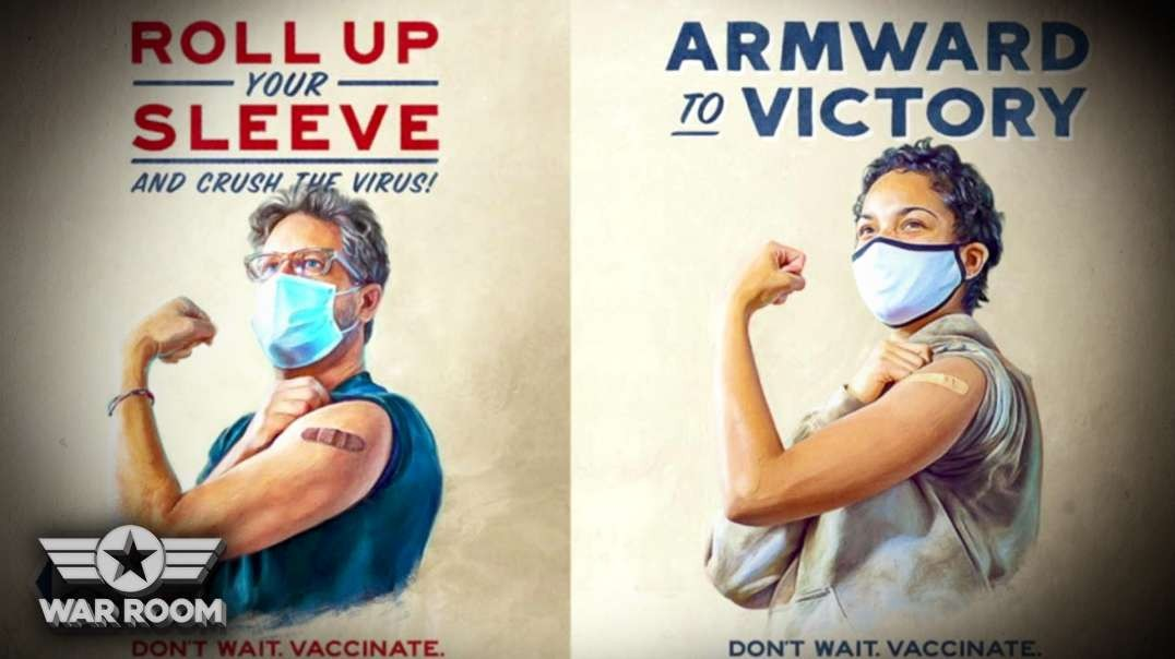 Communist Style Vaccine Propaganda Pushed All Over Internet