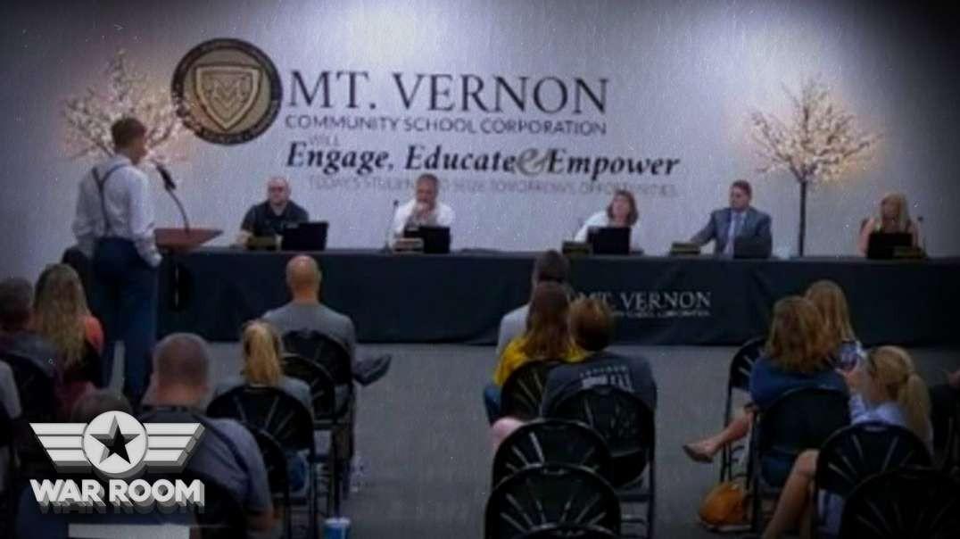 Dr. Confronts School Board On COVID Vaccine Lies