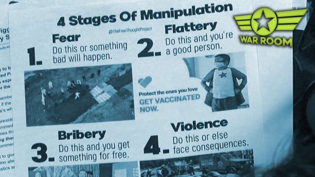 4 Stages Of MSM COVID Manipulation