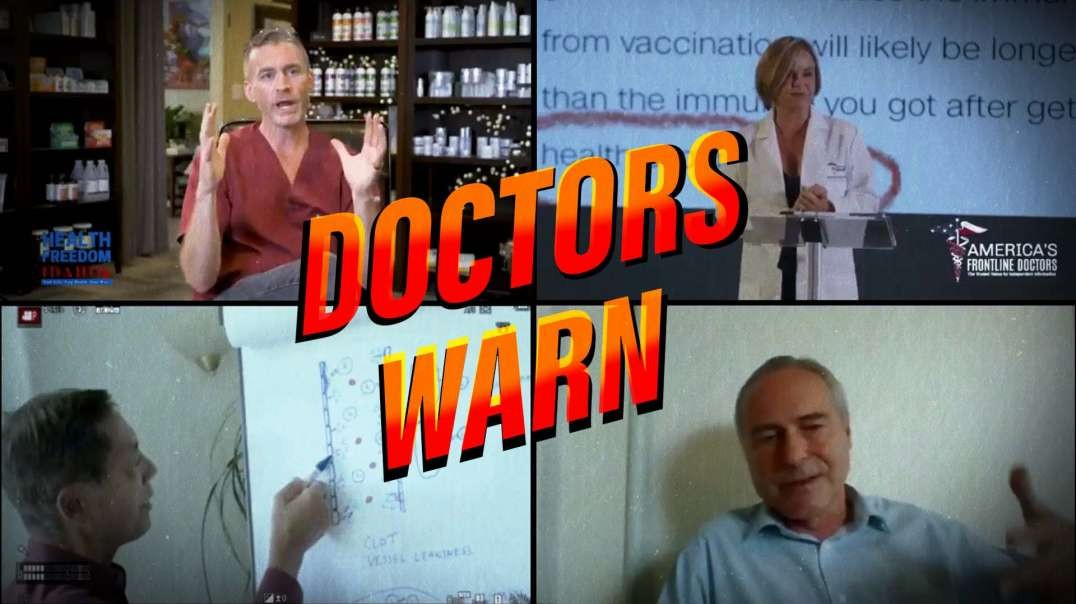 Compilation: Doctors Warn The World Of COVID Vaccine