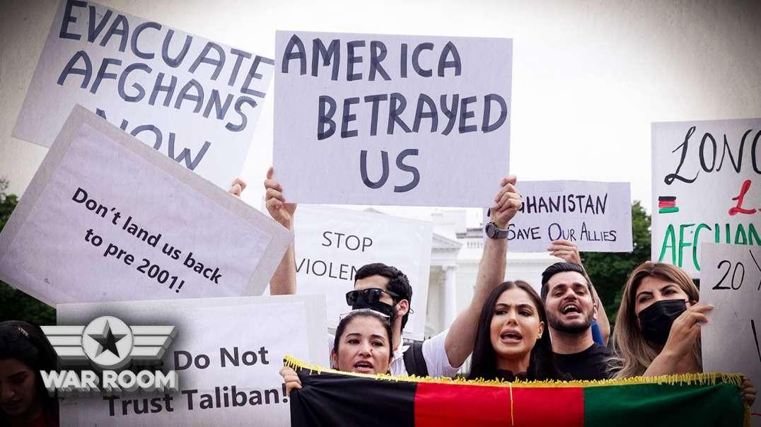 """""""Biden Is A Murderer"""" Says Afghan War Veteran"""