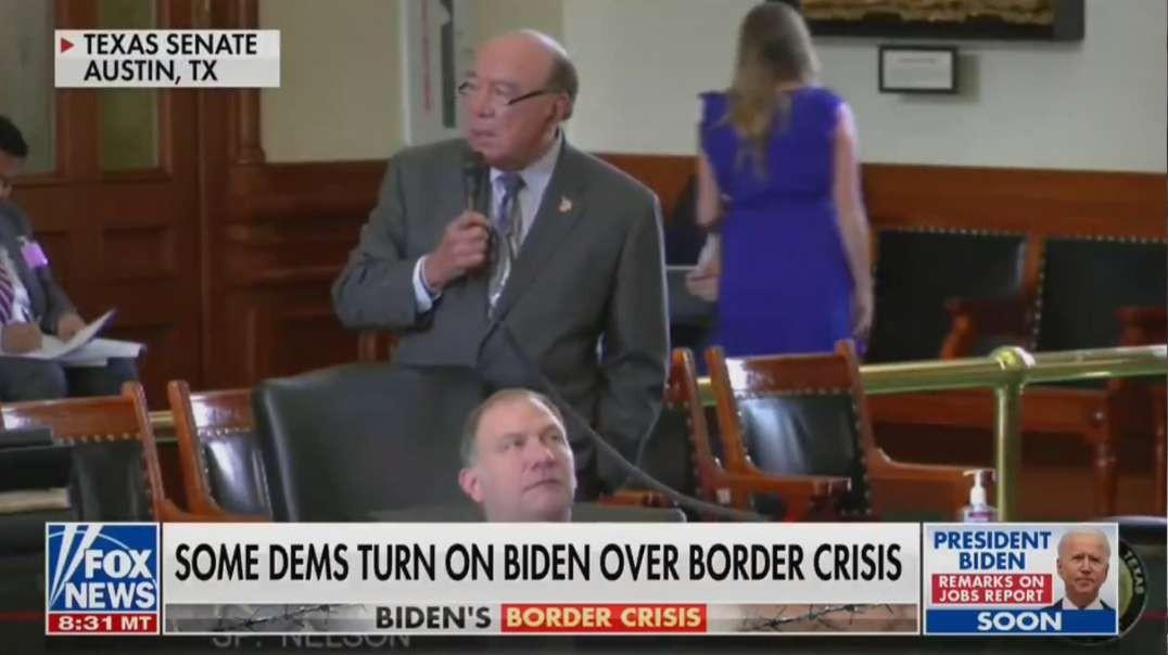 HIGHLIGHTS - Democrat Texas Senator Criticizes Border Problem