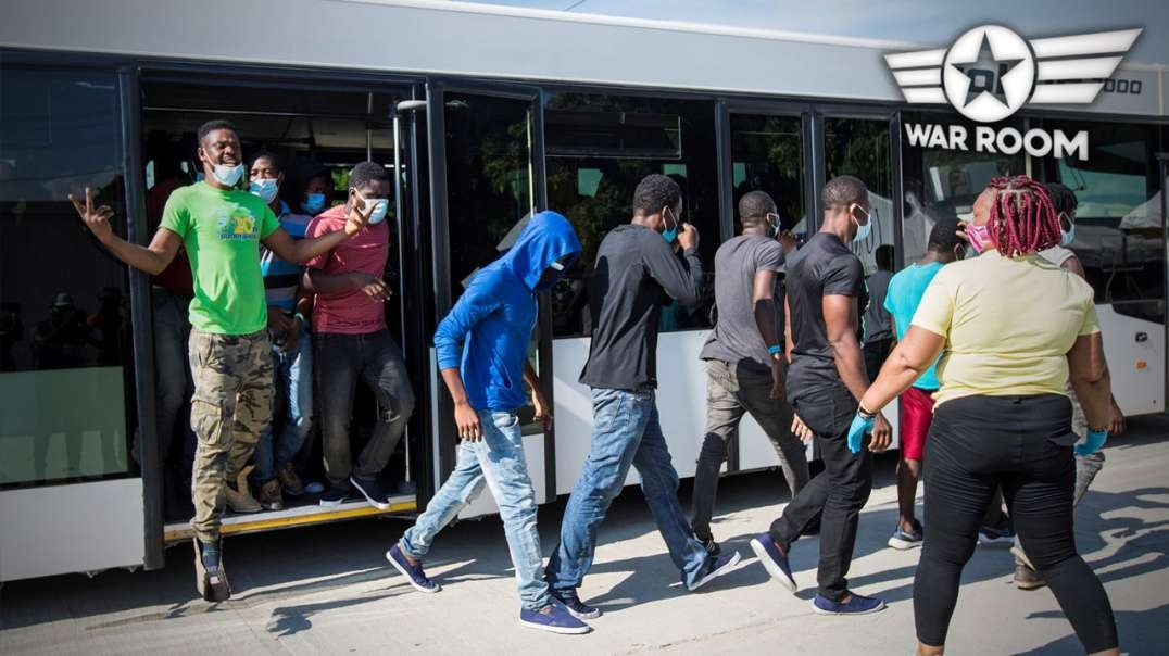Haitians Steal Border Patrol Buses and Escape Into Texas
