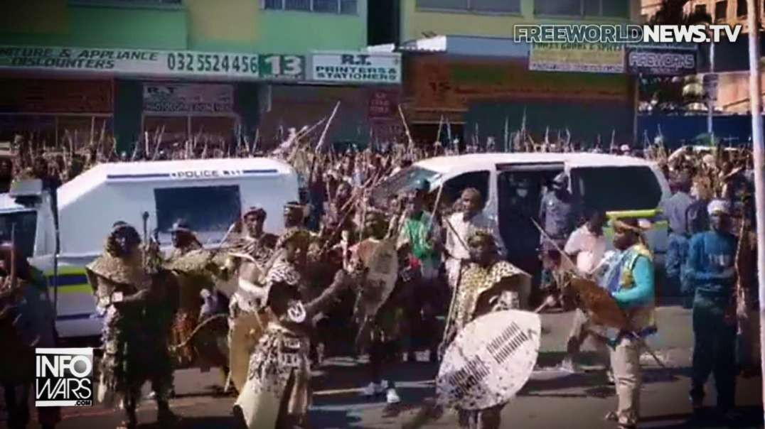 HIGHLIGHTS - Zulu Tribe In Africa Protests Vaccine Mandates