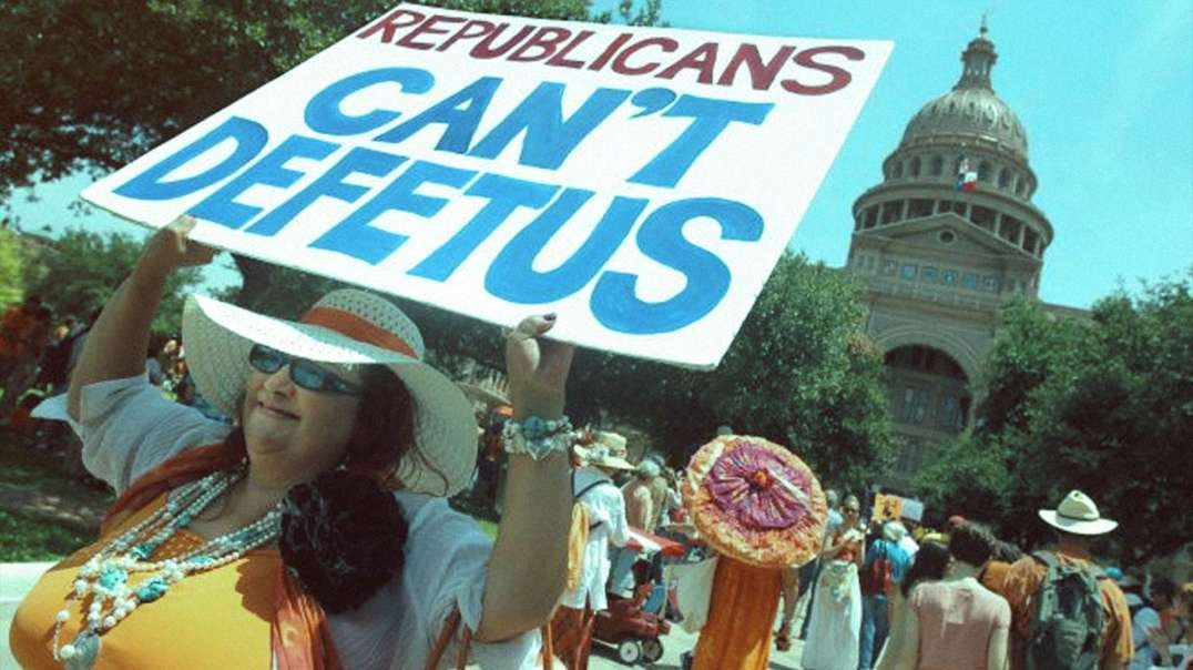 Pro-Abortionists Go Crazy At Texas Capitol