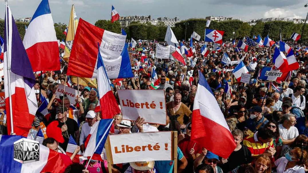 Mass Demonstrations Worldwide Against Vaccine Passports And COVID Tyranny