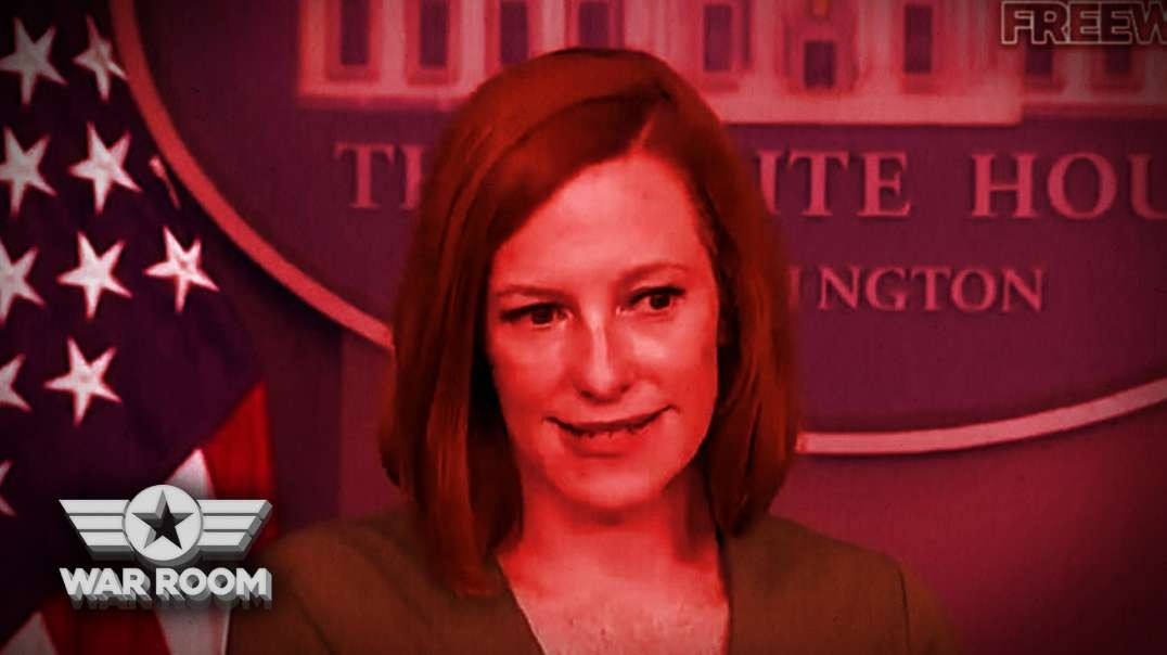 Jen Psaki Grins As She Announces Medical Tyranny For America Then Runs Off The Stage