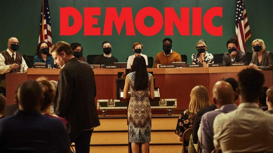 Mother Calls School Board 'Demons' For Making Children Wear Masks; Gets Her Mic Shut Off
