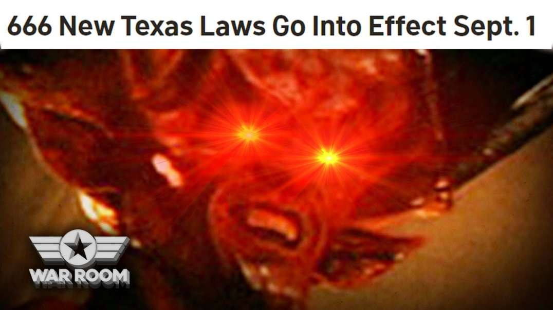HIGHLIGHTS - 666 New Laws In Texas?!