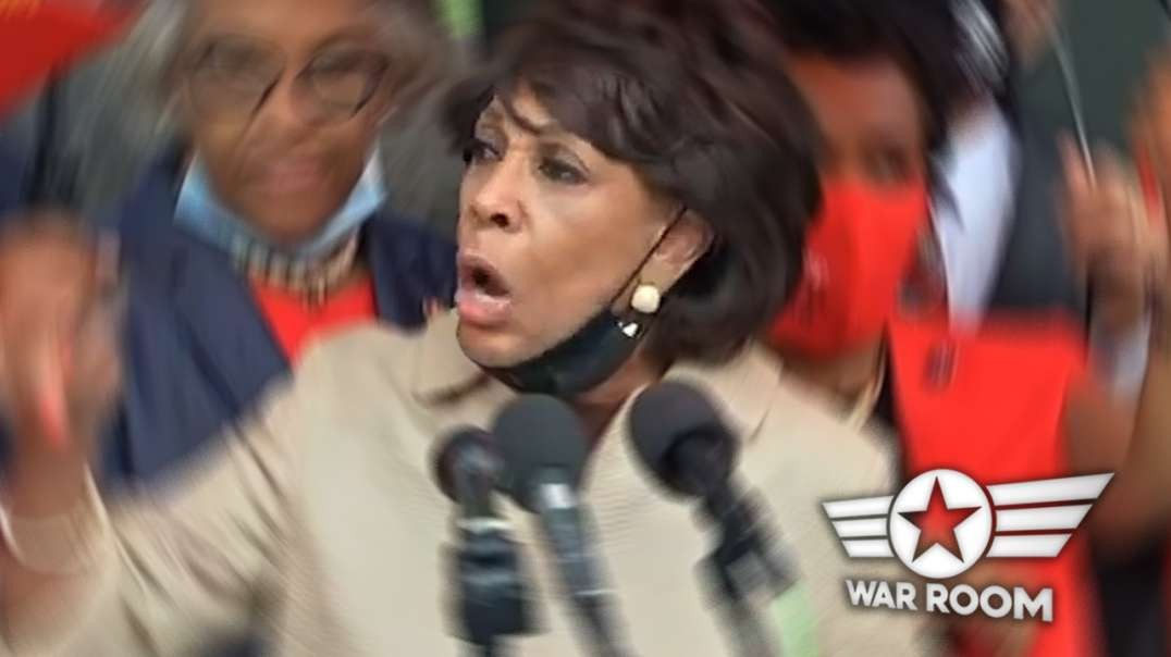 Maxine Waters Goes Completely Insane At Southern Border