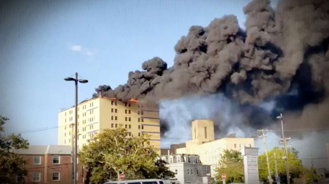 Hospital In Queens New York Bursts Into Flames