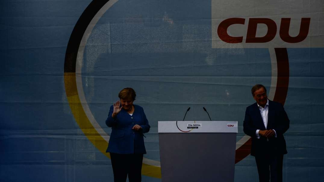 Merkel complains about Germanies swing to the left in the future