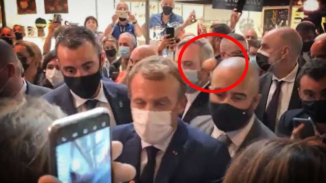 HIGHLIGHTS - Macron Gets Egged By Protester