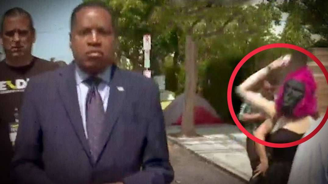 HIGHLIGHTS - Larry Elder Attacked By Racist Liberal