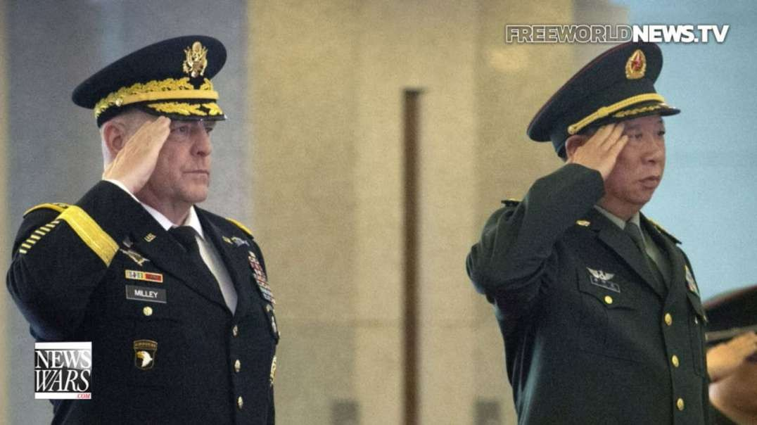 Why Did General Milley Make A Deal With China Ahead Of The 2020 Election?