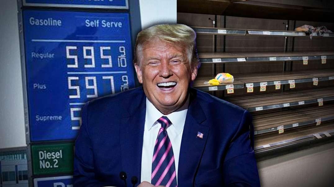 Breaking! President Trump Back On Infowars Commenting On Biden Presidency