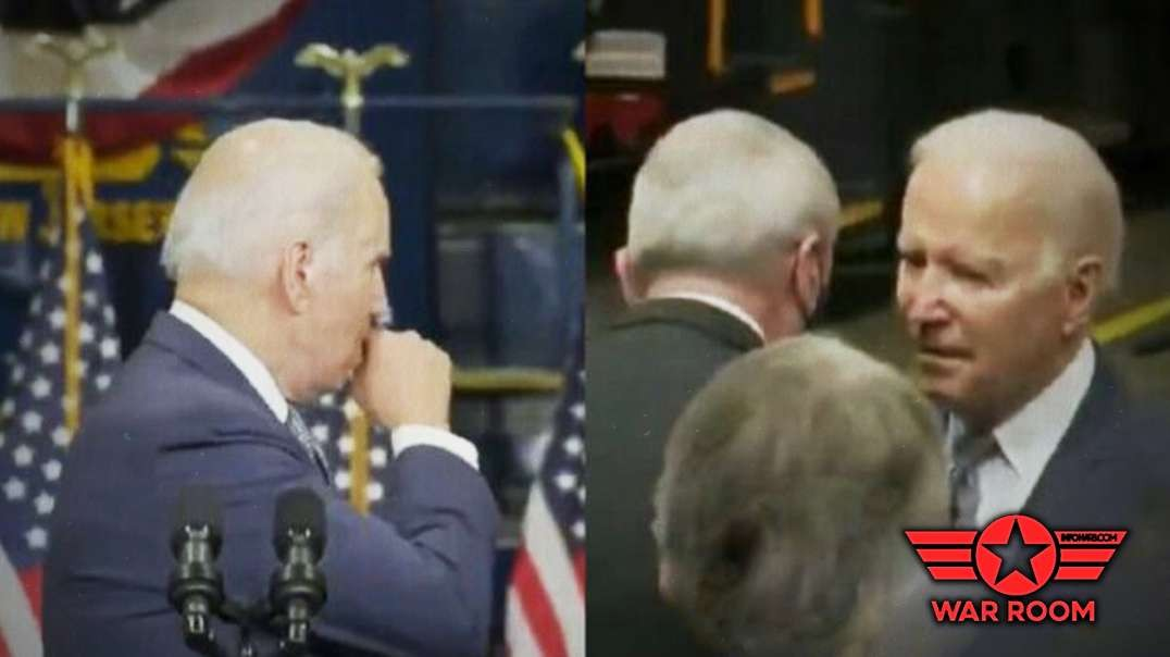 Biden Coughs Into His Hand Then Uses It To Shake With Attendees At His Speech