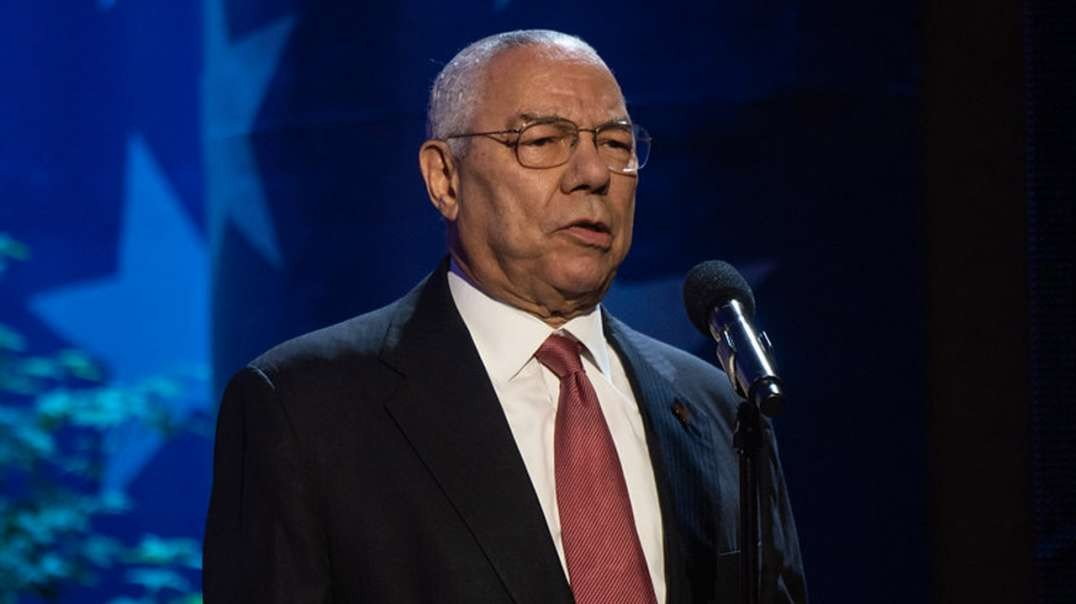 MSM Blames Colin Powell's Death on Unvaccinated