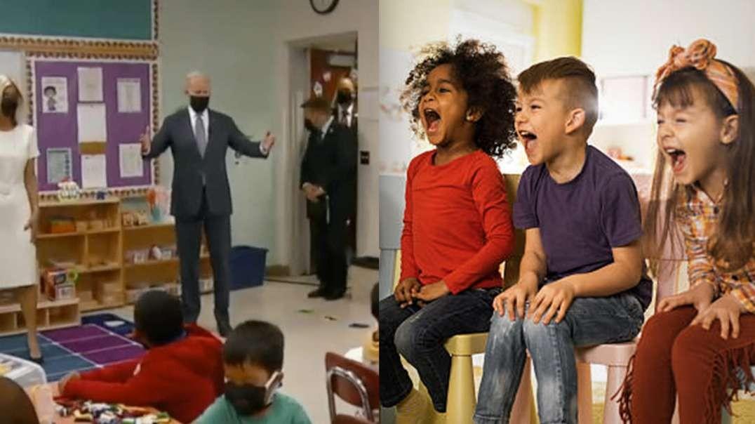 Joe Biden With The Kids... Again