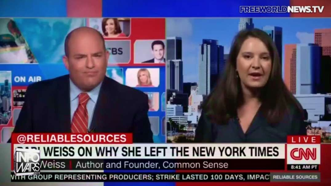 Brian Stelter Embarrassed By Guest Who Tells The Truth On His Show