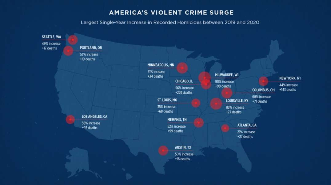 Murder Rates In Democrat Run Cities Reach All Time Highs